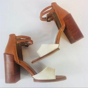 DV by Dolce Vita Sz 7.5 Strappy Ankle Block Heels